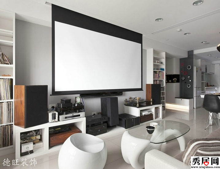 6 6 for Living room home theater ideas
