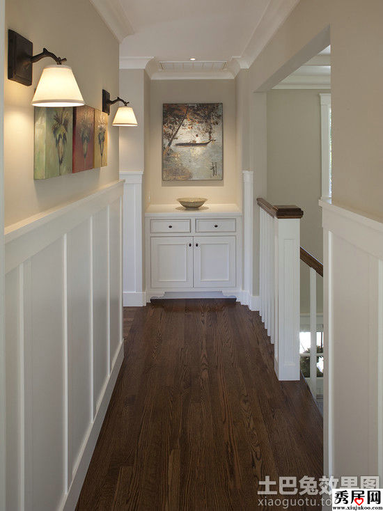 Upstairs Hallway Design Ideas