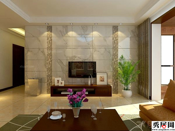 Modern Tiles Design For Living Room