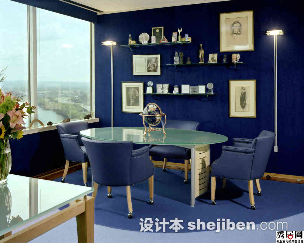 Navy Blue Interior Design Idea