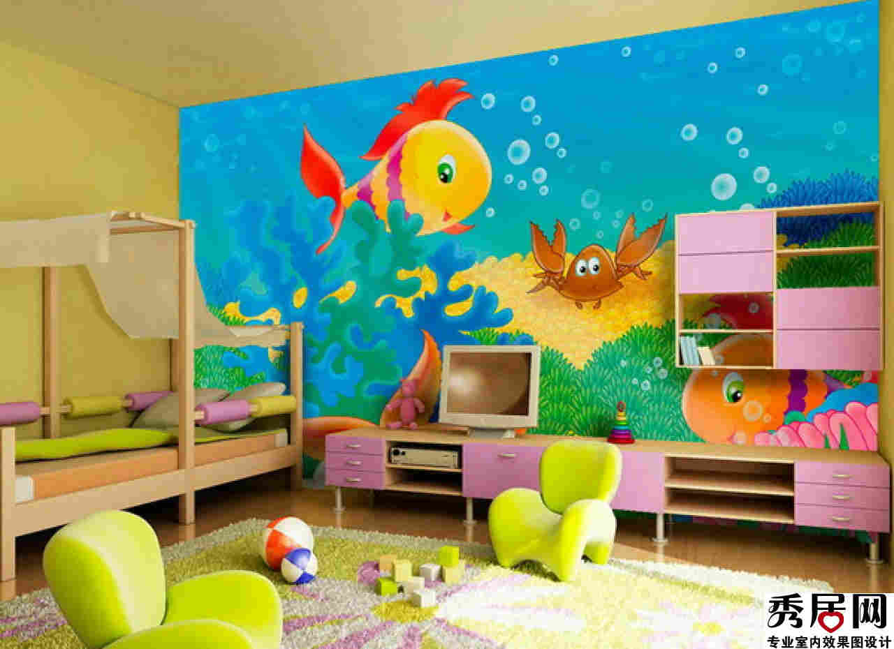 Bedroom wall paint ideas for boys - Child