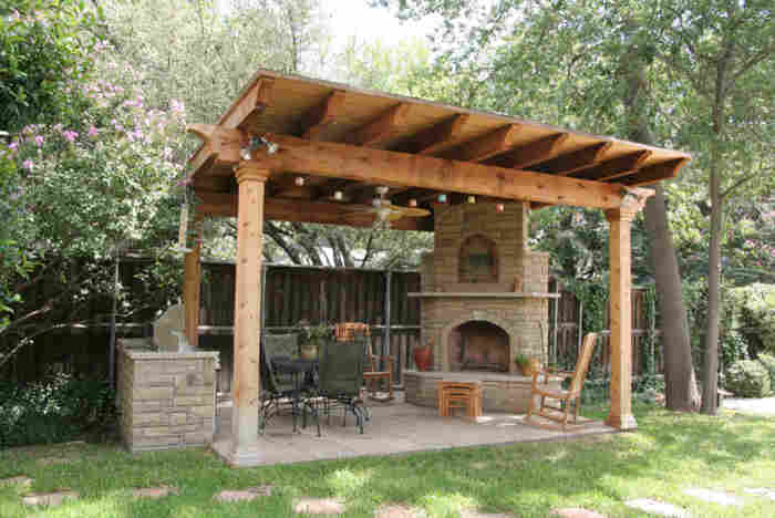 4 for Southwest pergola