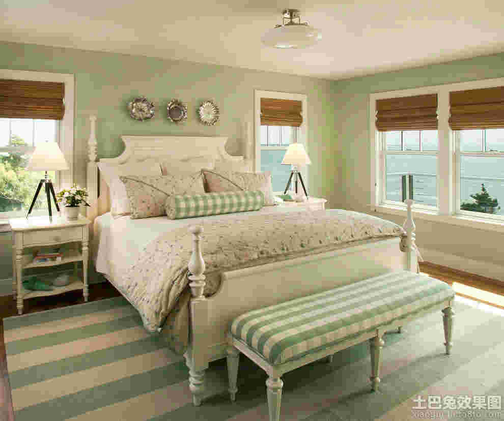 Beautiful Bedroom Furniture Green Bedroom Color Schemes Black And White Bedroom Suite Art Deco Bedroom Design: ź�尾高怎么铺床单好看 4款欧式家装卧室带床尾的床铺床单技巧图片大全-秀居网